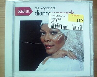 Playlist: The Very Best of Dionne Warwick SEALED CD 888751654426