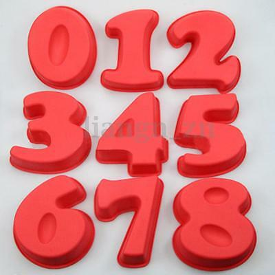 Numbers Cake Baking Pan Tin Silicone Mould Cake Bread Pie Pizza DIY Baking Mold