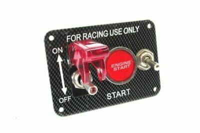 Universal~ Ignition Switch Engine Start Push Button Racing Car Toogle Panel 12V