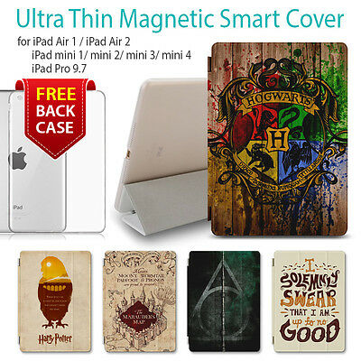 iPad Pro Case Harry Potter Print Smart Slim Leather Cover For Apple Mini 4 Air 2