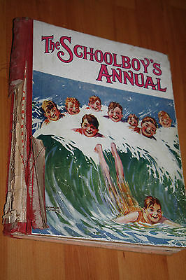 Collectable The Schoolboy's annual of adventure stories boys annual