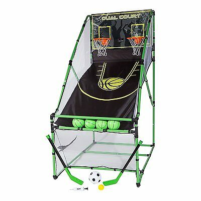 Franklin 3-IN-1 Arcade Centre with Dual Court Rebound Basketball Game