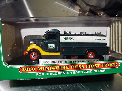 NEW Hess Mini / 2000 Miniature Hess Oil Gas First Truck