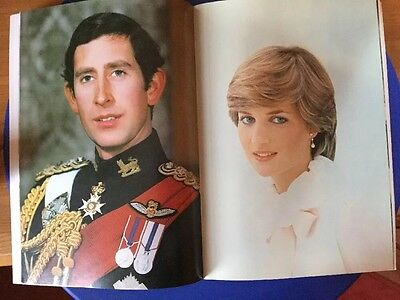 The Royal Wedding Official Souvenir Prince Charles and Lady Diana Spencer 1981