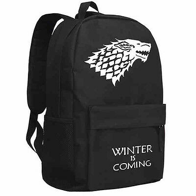 Game of Thrones Rucksack backpack House Stark winter is coming Freizeitrucksack