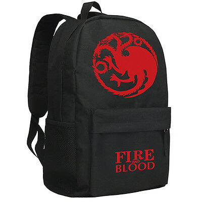 Game of Thrones Rucksack backpack House Stark Fire and Blood Freizeitrucksack