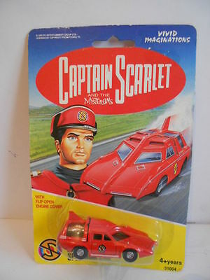 Captain Scarlet And The Mysterons Spectrum Car By Vivid New On Card
