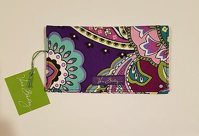 NWT Vera Bradley checkbook cover - HEATHER - MINT - NEW - FREE SHIPPING