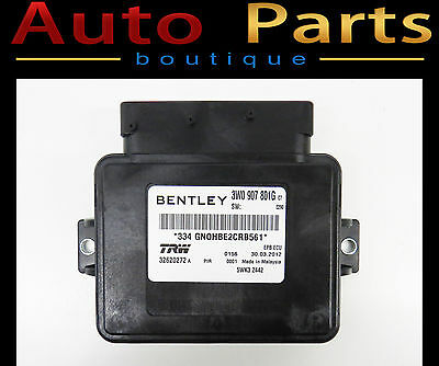 Bentley Continental NEW OEM Electro Mechanical Parking Control module 3W0907801G