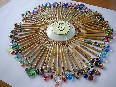 Lace Bobbins & Spangles x 70 in number