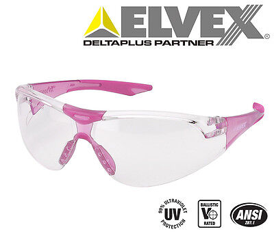3f8d72a48d Elvex Avion SF™ Slim Fit™ Girls Women ANSI Ballistic Safety Glasses Pink