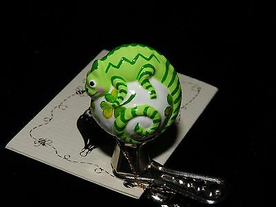 Patricia Breen Lucky Clover Petite Chameleon Clip On Store Exclusive NM Houston
