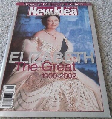 2002 British Queen Mother 1900-2002 Souvenir,australian New Idea, Complete