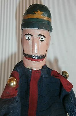 ealry  1900 /CHARACTER  Punch  &  Judy/Guignol   French  Gendarme  /COP SUPER !