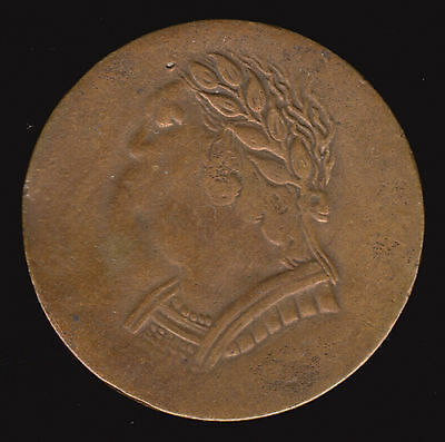 1820 Lower Canada Bust & Harp Token LC-60E2 VF Brass Canadian Coin 9 Strings