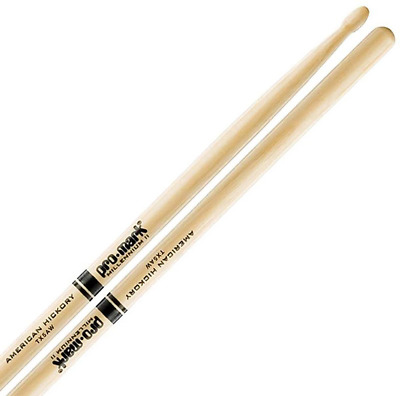 Pro-Mark 5A Hickory Drum Sticks - Wood Tip
