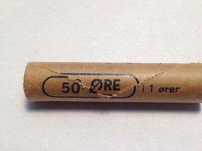 1962 norway 1 ore roll of 50