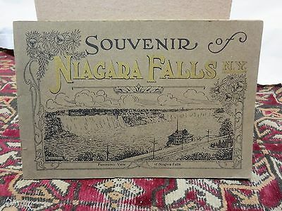 1900s Souvenir Of Niagara Falls Booklet Different Views of the Falls & Building