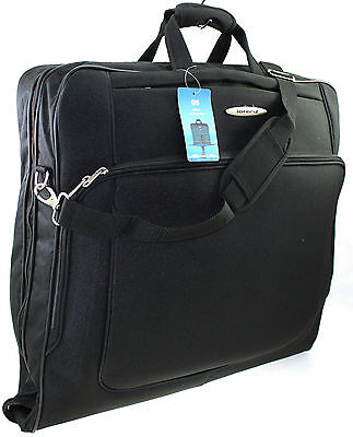High Quality Travel Luggage Wardrobe Suit Carrier Dress Case Suitbag Cover Black