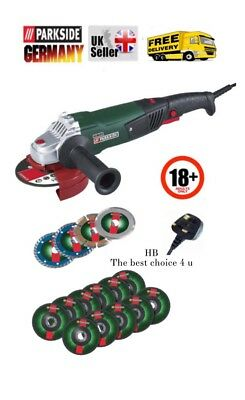 Angle Grinder Plus Extra 2 Pack Of Accessories    Made In Germany