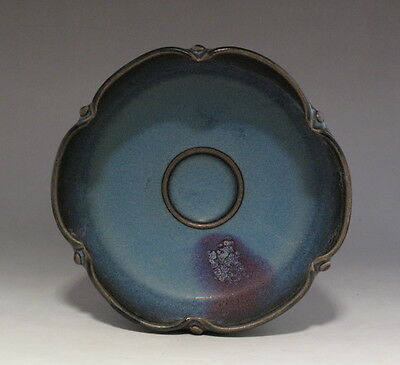 Nice Chinese Antique Jun Porcelain Brush Washer /Bowl H1027