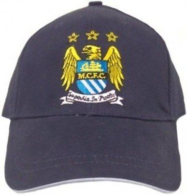 official manchester city navy baseball cap FREE DELIVERY