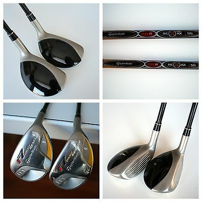 Taylormade Hybrids 3 And 4 R7 Draw Rescue With Regular Reax 55 Shaft