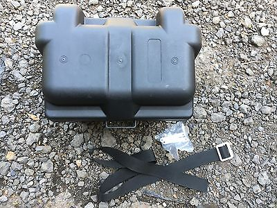 Starke Polypropylen Universal Battery Box oval Schaltung Banger Racing