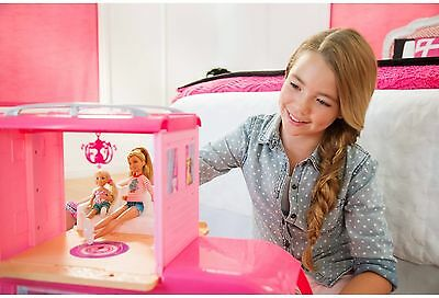 Barbie Pop-Up Camper Playset
