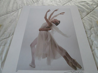 Harvey Edwards Ballet Lithograph Celebrating Romance Signed/Numbered