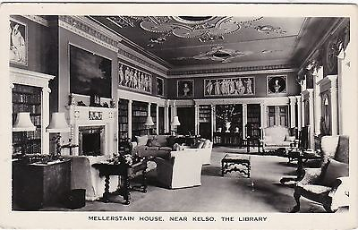 The Library, Mellerstain House, Nr KELSO, Roxburghshire RP