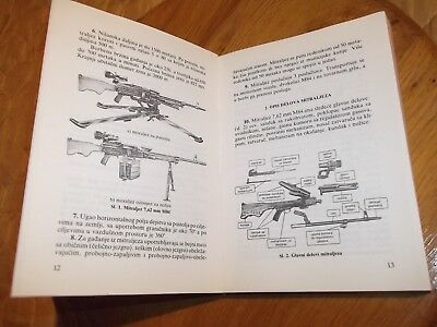 Yugoslavia JNA army M84 manual Ex Yugo M84 manual