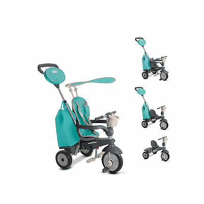 New ELC Boy Smart Trike Voyage - Green Toy From 10 months