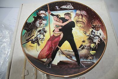 Star Wars Retuurn Of The Jedi   Collection Plate  W  Box