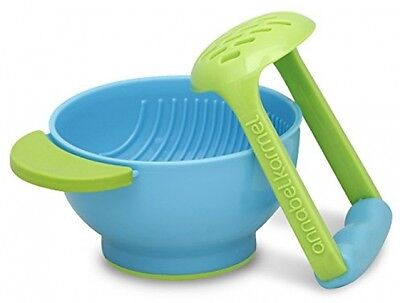 NEW NUK Mash And Serve Bowl For Making Homemade Baby Food