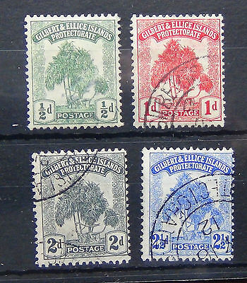 Gilbert & Ellice 1911 set complete to 2.5d Fine Used SG8/11