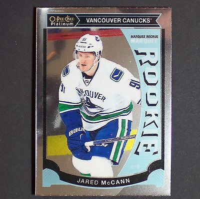 JARED McCANN  RC  2015/16 OPC Platinum #M20  Florida Panthers  Rookie