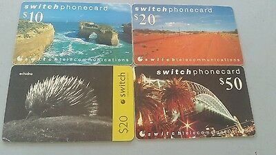 4x Switch phonecards mixed