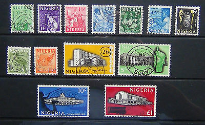 Nigeria 1961 set complete to £1 SG89/101 Used
