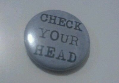 Beastie Boys CHECK YOUR HEAD 25mm Hip Hop Button Badge ny 80s 90S pauls boutique