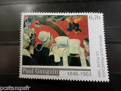 FRANCE 1998 timbre 3207, TABLEAU ART, GAUGUIN, PAINTING, ART neuf**, MNH STAMP