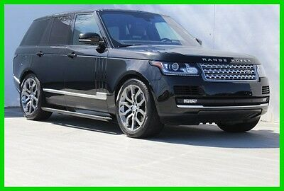 2016 Land Rover Range Rover HSE V6 S/C 2016 HSE Used 3L V6 24V Automatic 4WD SUV Premium