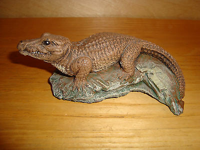 Crocodile Aligator Small Figurine Ornament  5 x13 cm
