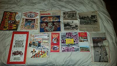large vintage circus world museum lot carnival