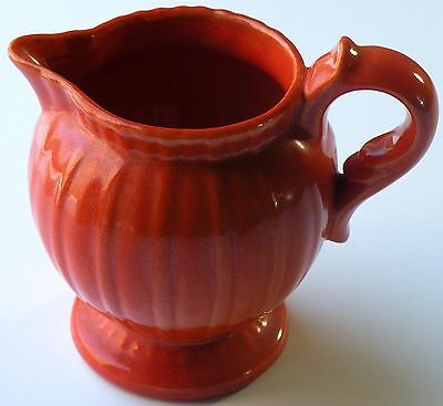 Vintage Stangl Colonial Tangerine Cream Pitcher