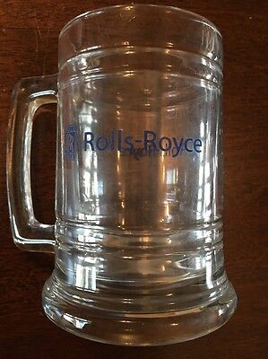 Rolls Royce Glass Mug