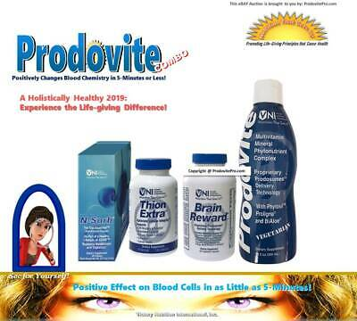 PRODOVITE COMBO: Experience the Difference! BLOOD CHEMISTRY CHANGED IN 5-MINS!