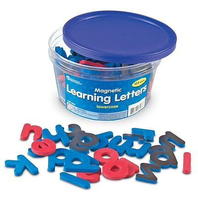 Learning Resources Magnetic Learning Letters, Lowercase