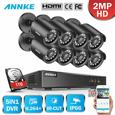 SANNCE 1x 900TVL Outdoor Indoor Home Security CCTV Camera IR 100ft Night Vision
