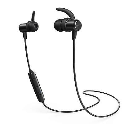 Anker Slim Bluetooth Earbuds, Lightweight Wireless Headphones with Magnetic